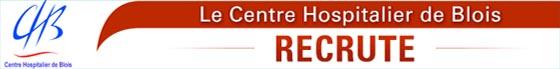 Le centre hospitalier de Blois recrute