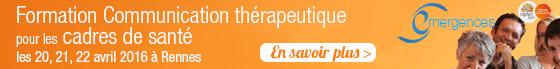 Emergences formation communication thérapeutique