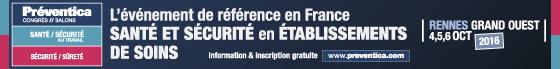 Preventica Rennes Grand Ouest octobre 2016