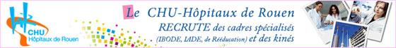 Le CHU de Rouen recrute