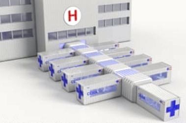 L'unité de soins intensifs mobile modulaire en réponse à une nouvelle épidémie