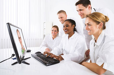 santé numérique soignants